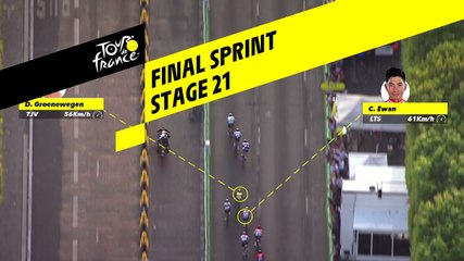 Sprint Final / Final sprint - Étape 21 / Stage 21 - Tour de France 2019