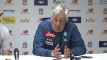 Anceolotti happy with Napoli's win over Liverpool