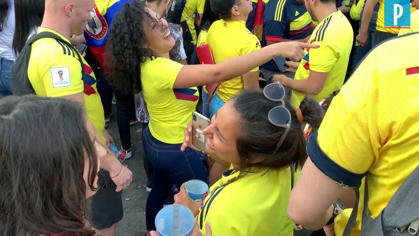 Tour de France : les Colombiens exultent sur les Champs-Elysées  après la victoire de Bernal