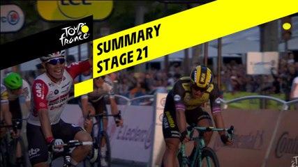 Summary - Stage 21 - Tour de France 2019
