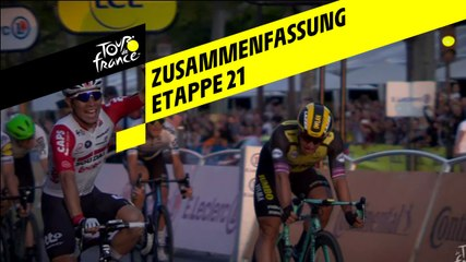 Zusammenfassung - Etappe 21 - Tour de France 2019