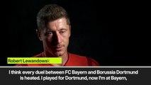 (Subtitled) Lewandowski 'regrets' Hummels decision 'not to help us anymore'