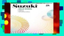About For Books  Suzuki Cello School, Vol 1: Cello Part (Book   CD)  Best Sellers Rank : #3
