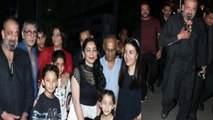 Sanjay Dutt celebrates his birthday with wife Maanayata Dutt and kids; Check out | FilmiBeat