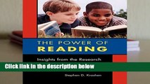 [Doc] The Power of Reading: Insights from the Research