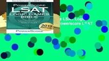 Full version  The Powerscore LSAT Logic Games Bible: 2019 Edition (Powerscore LSAT Bible)  Review