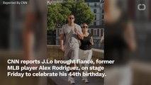 Jennifer Lopez Stops Concert For A-Rod Birthday