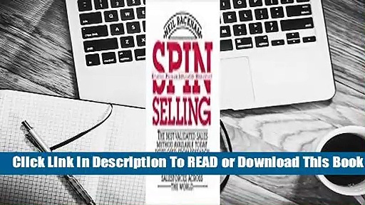 Full E-book SPIN Selling  For Free