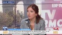 """Aurore Bergé: """"Ça m'est arrivé d'avoir peur"""" après des menaces"""
