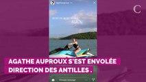PHOTOS. Agathe Auproux : le best-of de ses clichés de vacances...