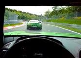VÍDEO: Dos Mercedes AMG GT R andan sueltos en Nürburgring y esto es lo que pasa