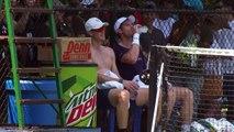 Andy and Jamie Murray train ahead of doubles partnership in Washington