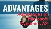 Advantages of Microsoft Dynamics AX | MS Dynamics AX | Visualpath