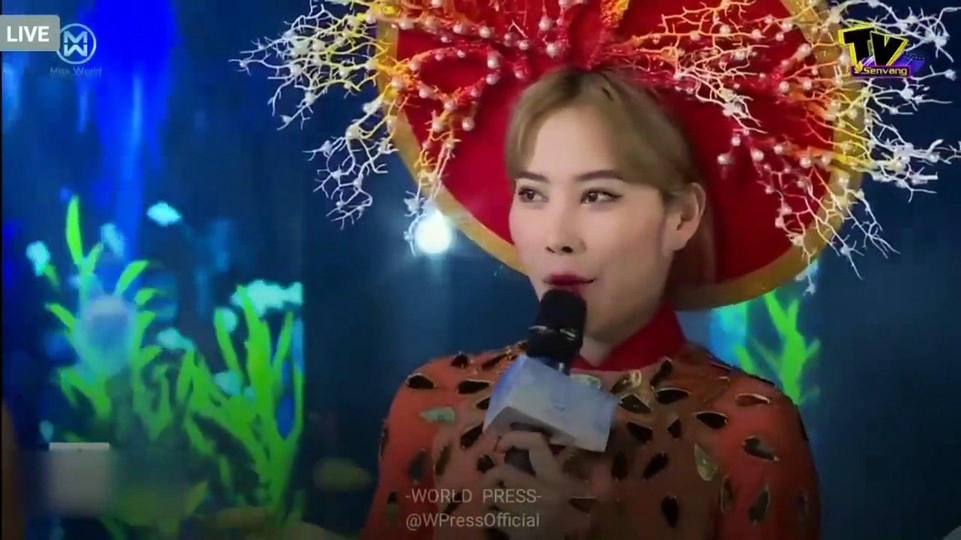 Nam Em trả lời cực nhây tại Miss World Vietnam 2019