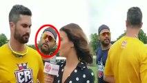 Global T20 : Yuvaraj Singh : காதலியுடன் பென் கட்டிங்.. கேள்வி கேட்டு கலாய்த்த யுவராஜ்- வீடியோ