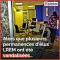 Permanences LREM vandalisées: Aurore Bergé appelle à des sanctions
