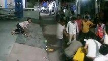 VIDEO: अस्पताल में जानवर की तरह दौड़ा और लोगों को मुंह से काटने लगा युवक, मच गई भगदड़
