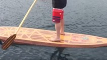 How custom paddleboards are made