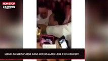 Lionel Messi impliqué dans une bagarre lors d'un concert (Vidéo)