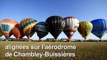 Plus de 400 montgolfières décollent de Chambley en Lorraine
