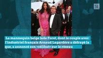 La mannequin belge Jade Foret annonce sa séparation avec son mari Arnaud Lagardère puis se ravise