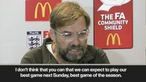 """(Subtitled) """"We can't defend against Man City as we did with Napoli"""" Klopp"""