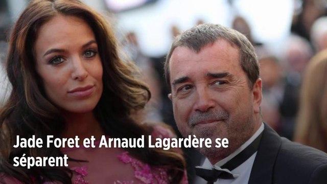 Jade Foret et Arnaud Lagardère se séparent