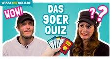 90er-Quiz – Knackst du alle Fragen?  | Wisst ihr noch?