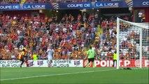 2015-08-12 - Résumé coupe de la Ligue RC Lens - AC Ajaccio (0-0 a. p. 2 tab à 4)  (1er tour CL)