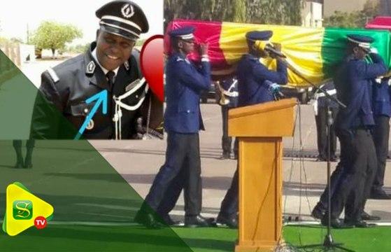 Funérailles du commandant Tamsir Sané : les derniers hommages de la gendarmerie