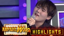 Anne Curtis and Karylle are wowed by JinHo Bae's singing | KapareWHO