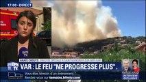 Var: l'incendie ne progresse plus mais des risques de reprise persistent
