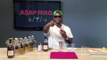 A$AP Ferg Makes His Sweet and Spicy Cognac Drink: Behind the Bar
