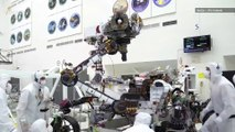 Watch NASA's Mars 2020 Rover Do 'Biceps Curls'