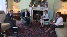 PM Boris Johnson meets Nicola Sturgeon in Bute House