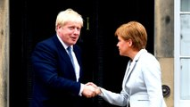 Johnson looks to improve ties on first visit to Scotland as UK PM