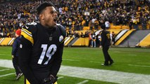 Pittsburgh Steelers Fan Gets Tattoo of JuJu Smith-Schuster's Signature on his Head