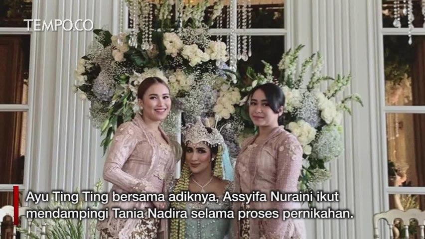 Fakta Menarik Pernikahan Tania Nadira