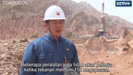 Teknologi Canggih, Cina Bor Sumur Minyak Daratan Terdalam di Asia