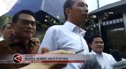 TKN Resmi Bubar, Jokowi: Koalisi Tetap Solid
