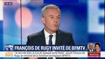 """""""Il y a des images qui ont choqué"""" : François de Rugy exprime ses regrets"""
