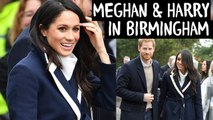 Meghan Markle And Prince Harry Wow Crowds In Birmingham Royal Wedding Tour March 08 2018
