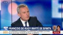 """Pour François de Rugy, """"ce lynchage médiatique est inadmissible"""""""