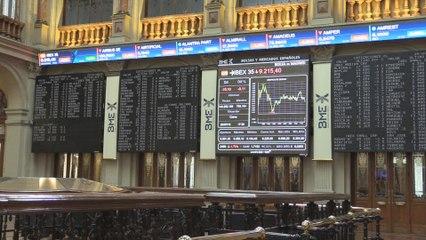El Ibex 35 cae un 0,11 % hasta los 9.215 puntos pendientes de si la  FED baja tipos esta semana