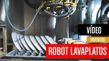 [CH] Robot lavaplatos para restaurantes con inteligencia artificial