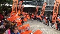 FC Lorient : haie d'honneur au Moustoir