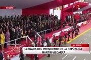 Gran Parada Militar: así fue el distante saludo entre Martín Vizcarra y Mercedes Aráoz