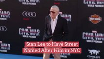Stan Lee to Have Street Named After Him in NYC