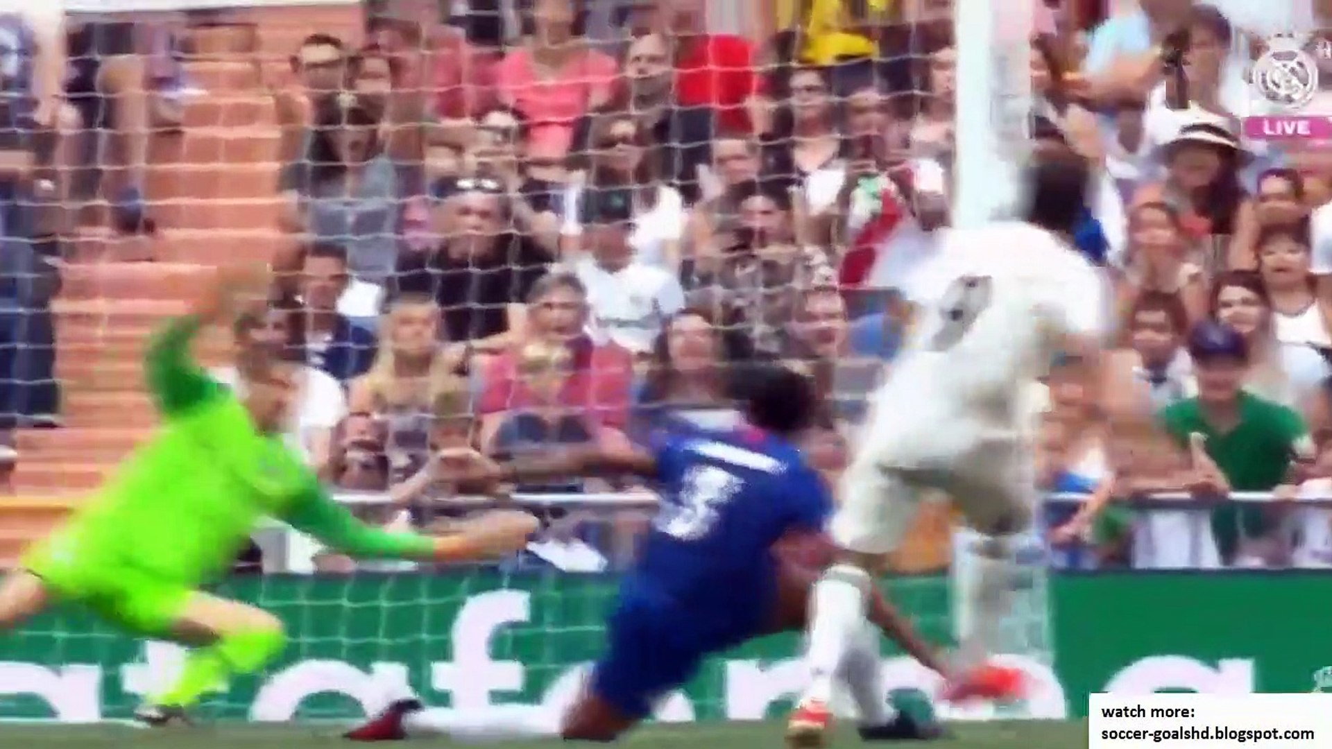 Real Legends vs Chelsea Legends  All Goals and Highlights 720 x 1280