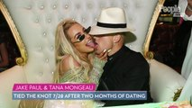 Fight Breaks Out at Tana Mongeau and Jake Paul's Wedding in Vegas